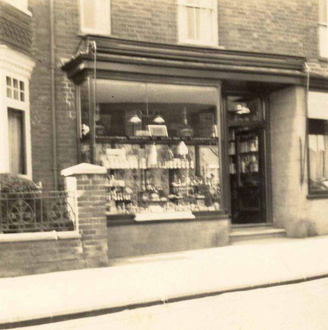 Corden's Chemist Shop, 3 Victoria Rd.