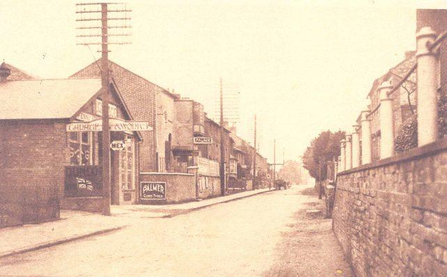 High Street looking towards Denbigh