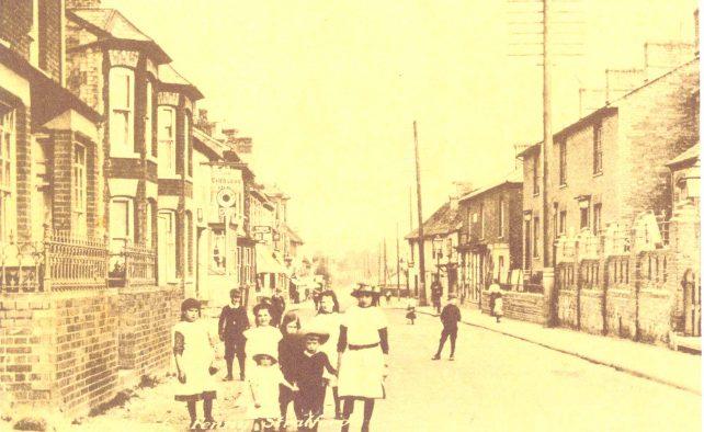 High Street looking towards Little Brickhill