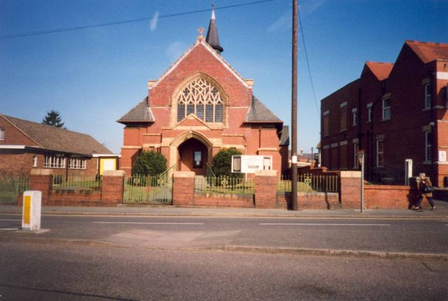 Methodist Church, Bletchley Road