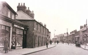 Shops on Victoria Road c1910