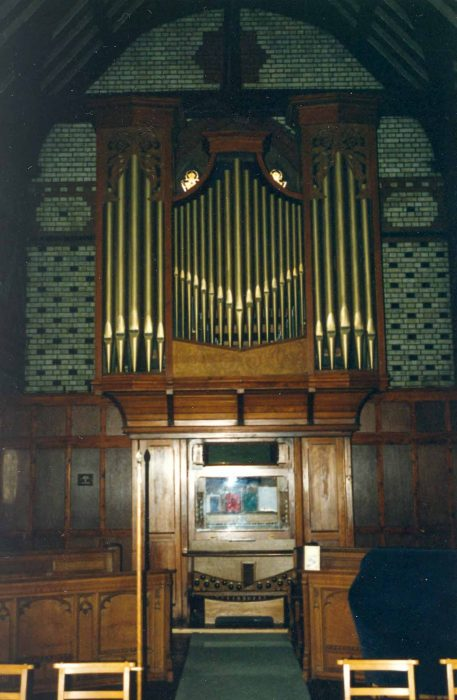 St. Martin's Church organ
