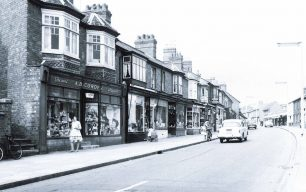 Victoria Road shops, including Corden's Chemists