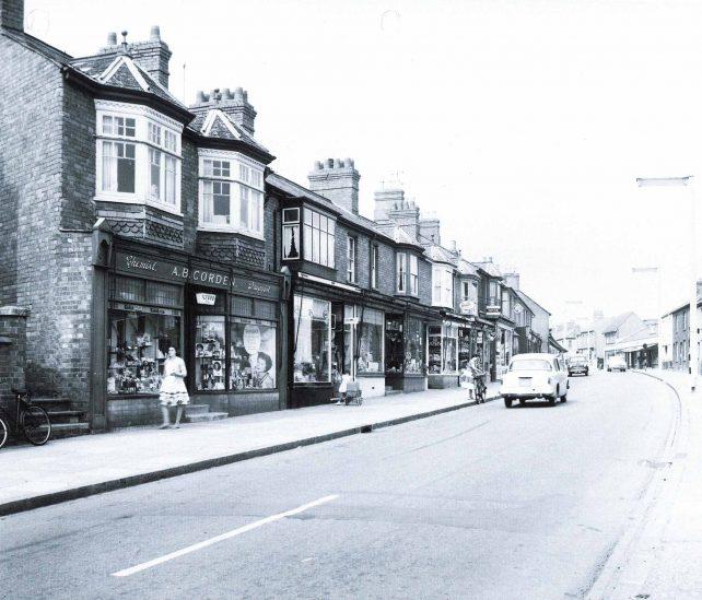 Victoria Road shops, including Corden's Chemists