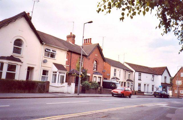 Victoria Road looking towards George Street