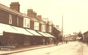 Victoria Road shops c.1910