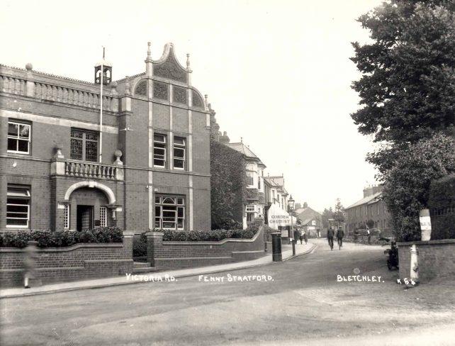 Victoria Road, Fenny Stratford with Corden Chemist