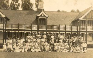 St. George's Infant Welfare at Bletchley Park pavilion
