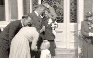 Mary Gammage's wedding