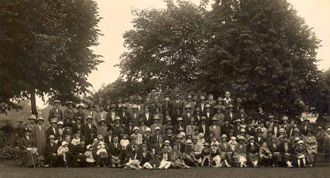 St. Martin's parishioners garden party