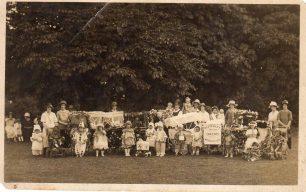 Fancy dress, Bletchley Infants Welfare Centre, Bletchley Park