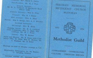 Guild Booklet 1953-1954