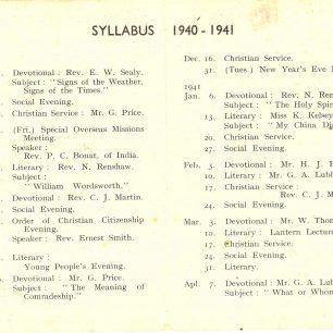 Guild Booklet 1940-1941