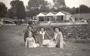 Three women at Wicksteed Park