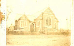 The Freeman Memorial Church in 1895