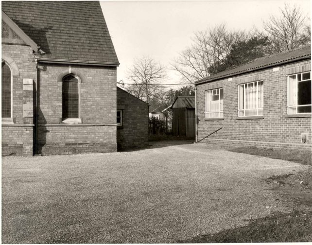 Rear of Church with hall
