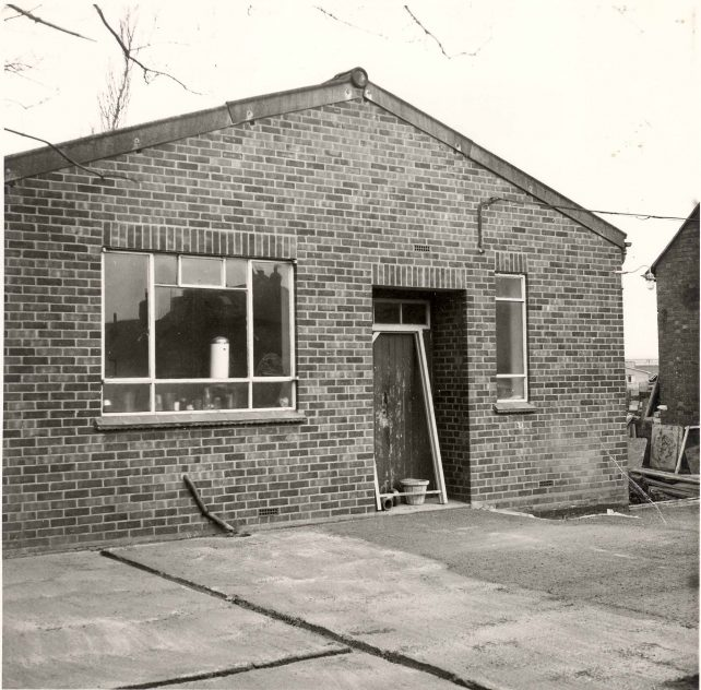End of church hall
