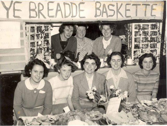 Ye Breadde Baskette food stall