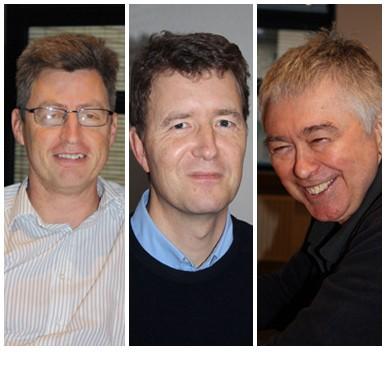 Nick Freer, Andy Hiorns and Ken Baker