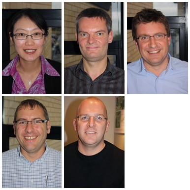 Wei Yang , Andrew Wintersgill , Darren Bell, Phil Copsey and Roger Carman