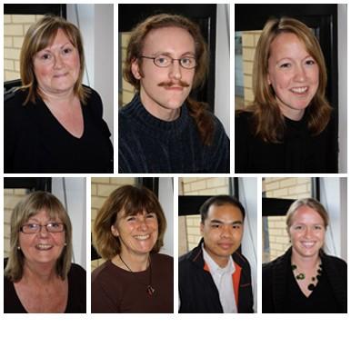 Karen Dye, Adrian Webb, Helen Locke, Jane Alexander, Gail Revill, Sheng-Ji Lin and Stefanie Goedecke
