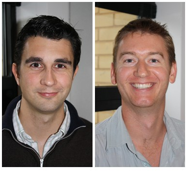 Mark Prestige and Paul Farrell